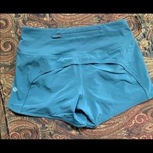 BRAND NEW LULULEMON RUNNING SHORTS